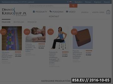 Zrzut strony Jak leczyć bóle kręgosłupa - dbamokregoslup.pl
