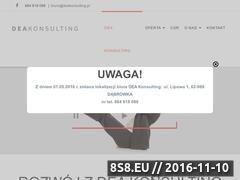 Miniaturka domeny www.deakonsulting.pl