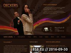 Miniaturka domeny deckers.pl