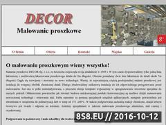 Miniaturka domeny decor.szczecin.pl