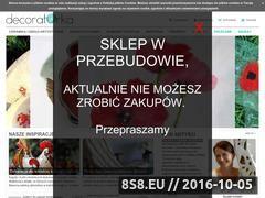 Miniaturka Artykuły dekoracyjne wykonane ręcznie (decoratorka.pl)