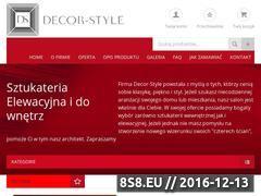 Miniaturka domeny www.decorsystem-partners.pl