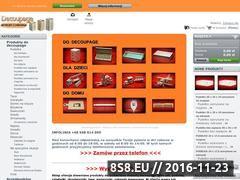 Miniaturka domeny decoupagesklep.pl