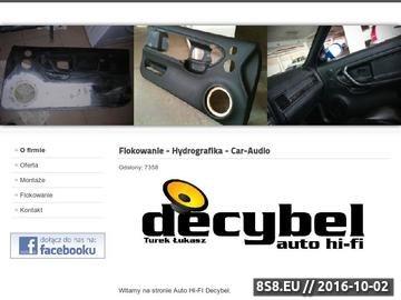 Zrzut strony Flokowanie - Decybel Kielce