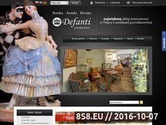 Miniaturka domeny www.defanti.pl