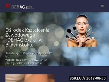 Zrzut strony DEHAG extra Białystok