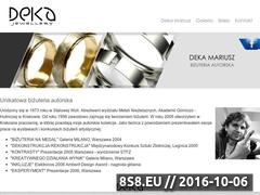Miniaturka domeny www.deka-jewellery.pl