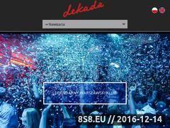 Miniaturka domeny www.dekadalodz.pl