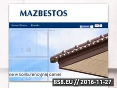 Miniaturka domeny www.dekarzmazbestos.pl