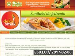 Miniaturka domeny www.dekasmak.pl