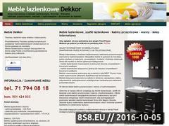 Miniaturka domeny www.dekkor.eu