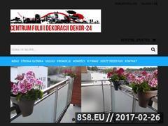Miniaturka domeny www.dekor-24.pl