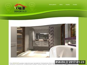 Zrzut strony Projektowanie wnętrz Rzeszów
