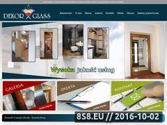 Miniaturka domeny dekor-glass.com.pl