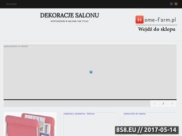 Zrzut strony Wyposażenie salonu - blog