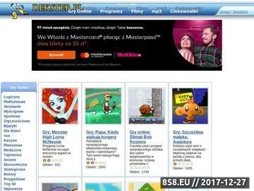 Zrzut strony Gry online dekster.pl