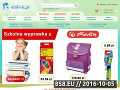 Miniaturka domeny delfinki.pl
