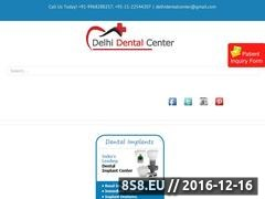 Dental treatment clinic India Website