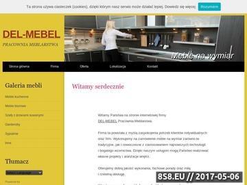Zrzut strony DEL-MEBEL - meble do sypialni
