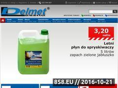 Miniaturka domeny www.delmet.pl
