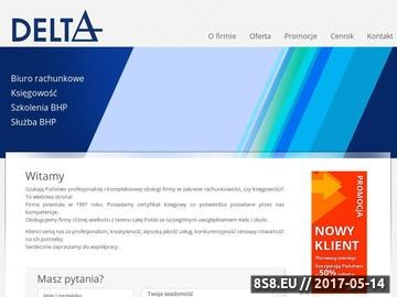 Zrzut strony DELTA służba BHP