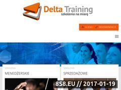 Miniaturka DELTA TRAINING: praktyczne szkolenia biznesowe  (deltatraining.pl)