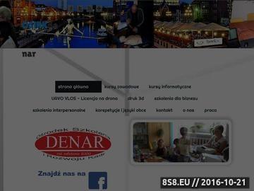 Zrzut strony Kursy, szkolenia, warsztaty i wykłady na terenie całej Polski