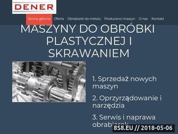 Zrzut strony Serwis maszyn