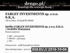 Miniaturka domeny www.dengo.pl
