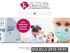 Miniaturka domeny www.dent22.pl