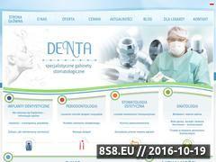 Miniaturka domeny www.denta.com.pl