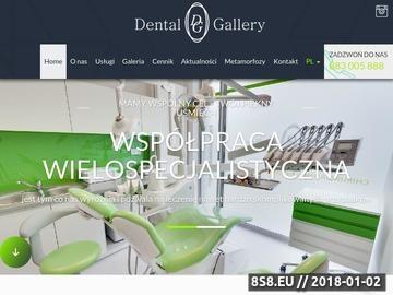 Zrzut strony Dentysta Warszawa