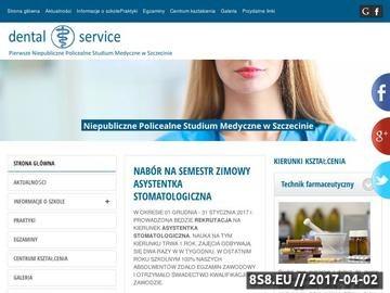 Zrzut strony Seminaria dla stomatologów, technik dentystyczny kursy