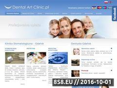 Miniaturka domeny www.dentalartclinic.pl