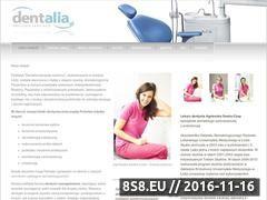 Miniaturka domeny www.dentalia.pl