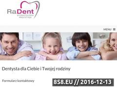 Miniaturka domeny www.dentalklinik.pl