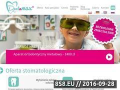Miniaturka domeny dentamax.com.pl