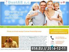 Miniaturka domeny www.dentar.pl