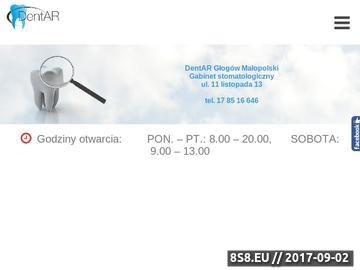 Zrzut strony Ortodonta Rzeszów