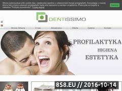 Miniaturka domeny dentissimo.pl