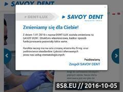 Miniaturka domeny dentlux.pl