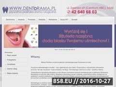 Miniaturka domeny www.dentorama.pl