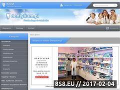 Miniaturka domeny www.dentylium.pl