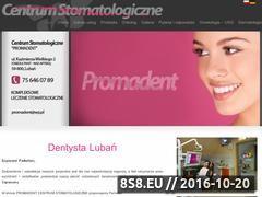 Miniaturka Gabinet stomatologiczny, protetyka, stomatolog (www.dentysta-luban.pl)