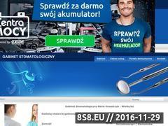Miniaturka domeny www.dentystawzamosciu.pl