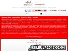Miniaturka domeny depart.pl