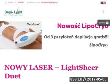 Zrzut strony Salon Depi Light