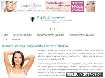 Zrzut strony Laserowe usuwanie owłosienia