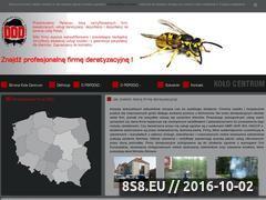 Miniaturka domeny www.deratyzacja.pl