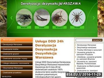 Zrzut strony Deratyzacja, Dezynsekcja i Dezynfekcja